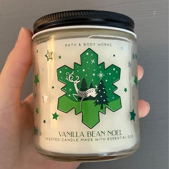 Vanilla Bean Noel Bath and Body Works candle